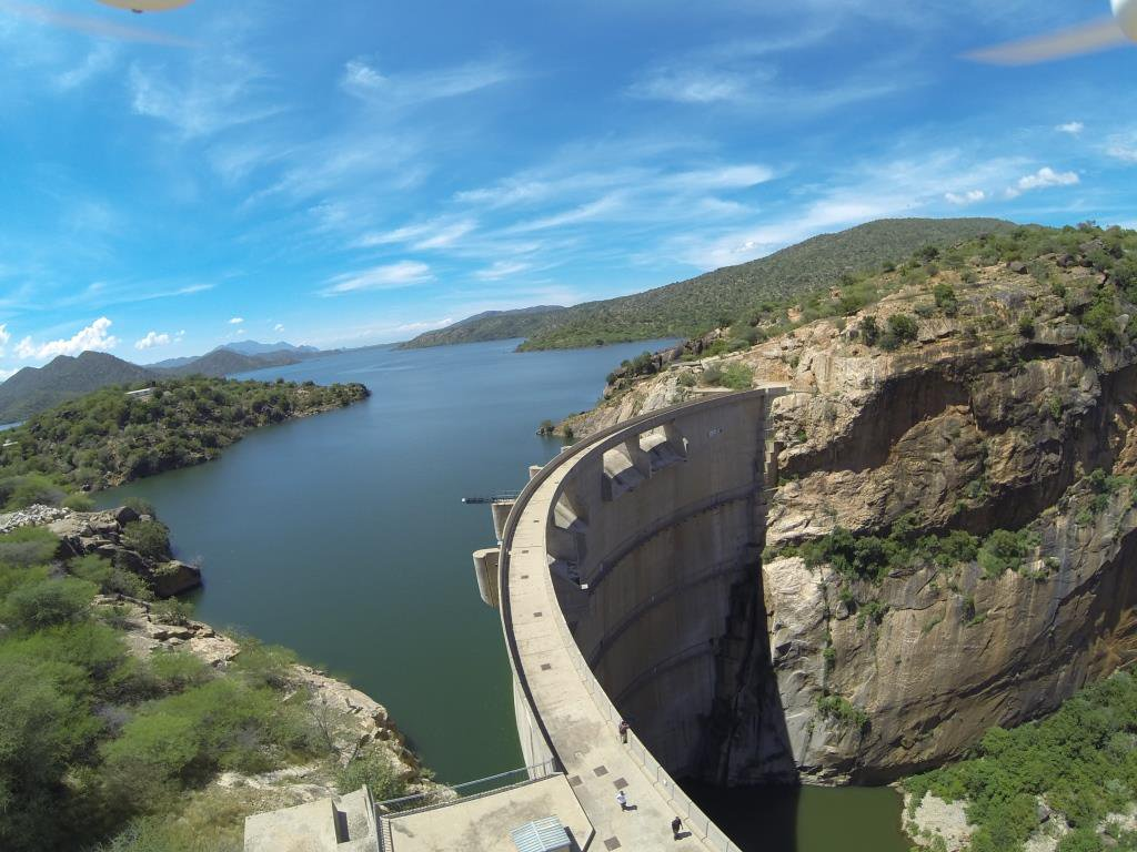 Turkwel Dam near Nasolot National Reserve. Photo Courtesy of KenGen