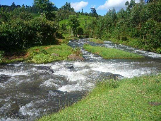 Confluence of Rivers Mathioya and Githugi.  Image Courtesy of Trip Advisor