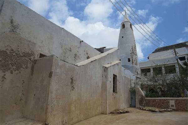 Friday Mosque in Shela Village near Lamu.  Photo Courtesy of Rupi Mangat