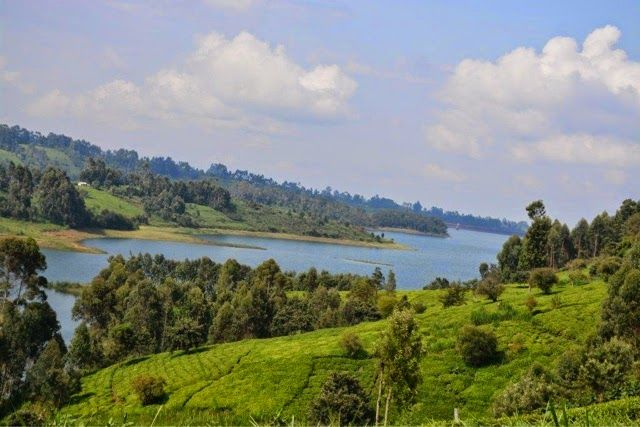 Section of Ndakaini Dam.  Photo Courtesy of Pinterest