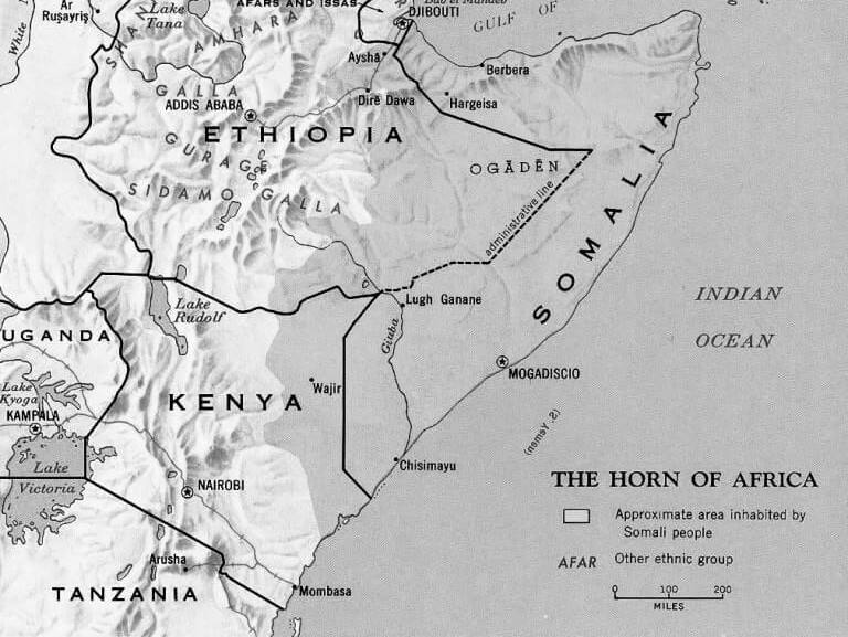 Northern Frontier Province - The Kenya That was never Kenyan.  Courtesy