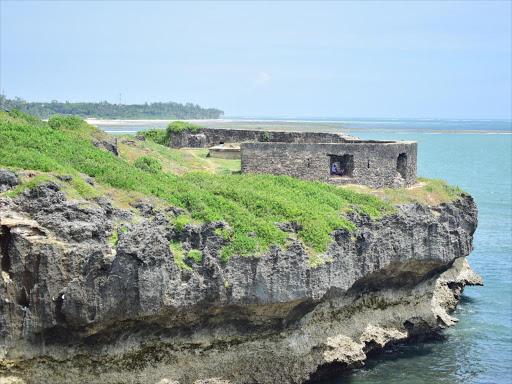 St. Joseph's Fort along Mama Ngina Street.  Courtesy of The Star