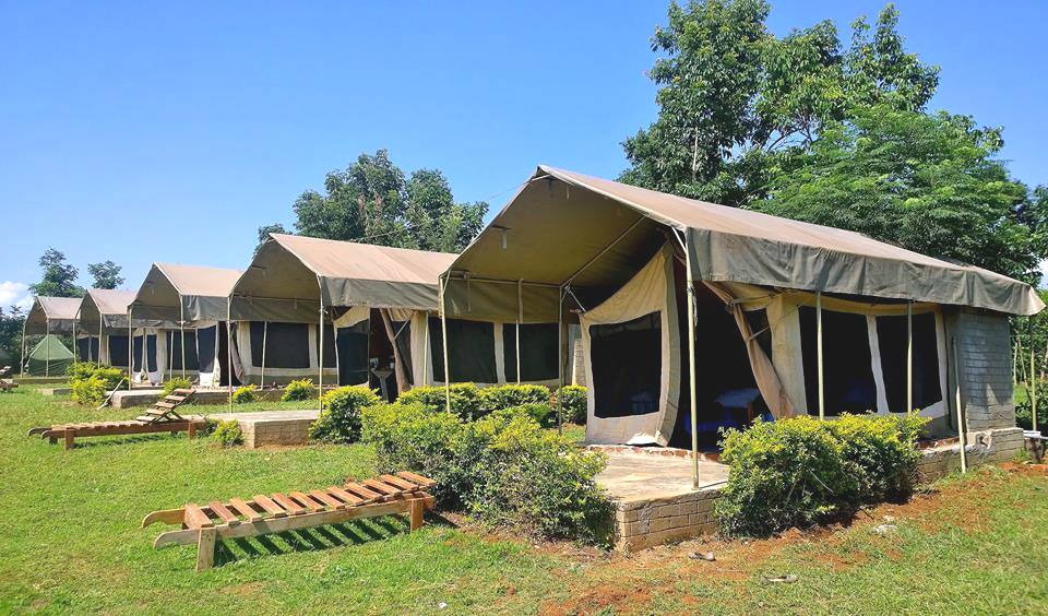 Hawi's Tented Camp in Kadenge.  Photo Courtesy of Hawi's Camp