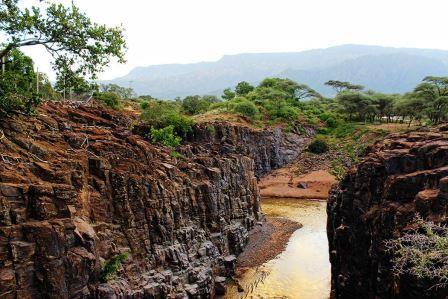 Chebloch Gorge in Baringo County.  Image Courtesy
