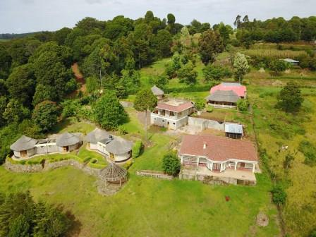 Aerial View of Kilima Resort and Campsite at Iten in Elgeyo Marakwet