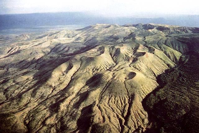 Paka Volcano in Baringo County.  Image Courtesy of Smithsonian