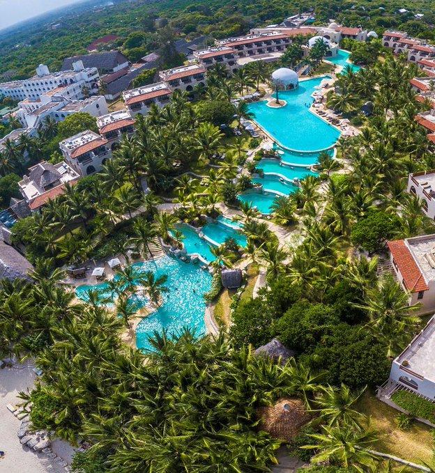 Swahili Beach Resort, Diani - 13 Unique Hotels in Kenya