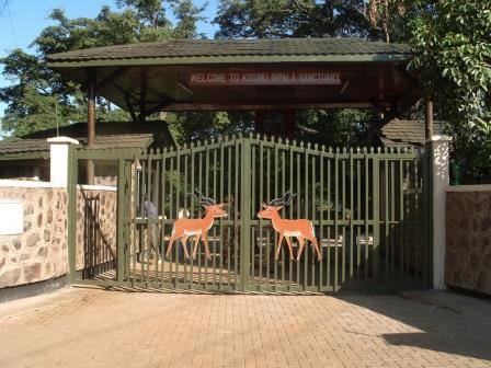 Entrance to Kisumu Impala Sanctuary. Image Courtesy of KWS