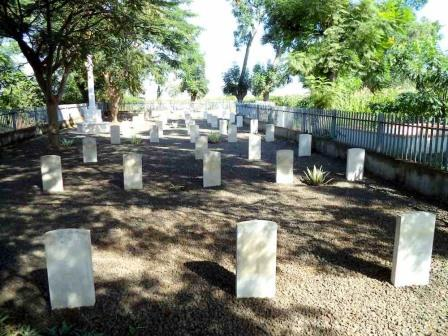 Kisumu War Civil Cemetery.  Image Courtesy of Macleki