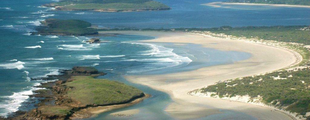 Kiunga Marine National Reserve in Lamu County.