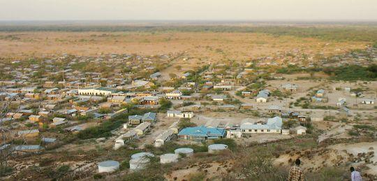 Merti Plateau in Isiolo County Kenya