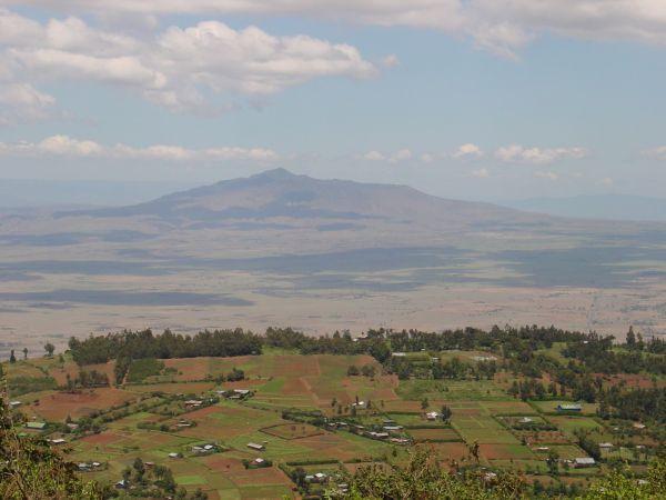 Mount Suswa.  Image Courtesy of Orville Jenkins