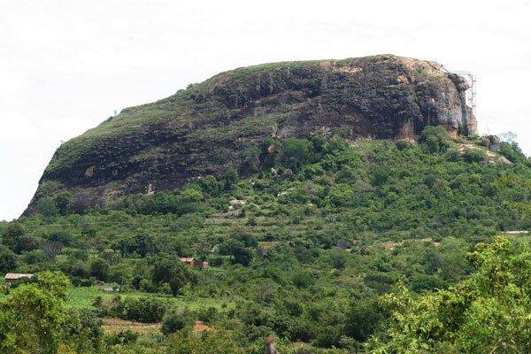 Nzambani Rock in Kitui County.  Image Courtesy of Nation Media Group