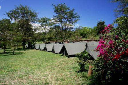 Camping Grounds at Savage Wilderness, Sagana, in Kirinyaga County
