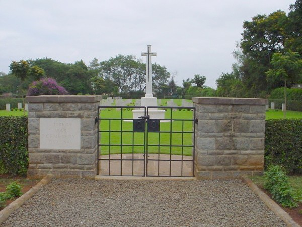 Thika War Cemetery.  Image Courtesy of EA Memorials