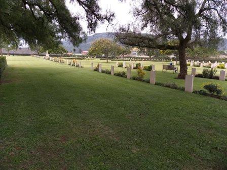 Gilgil War Cemetery near Gilgil Towm. Image Courtesy of Daniel Achini