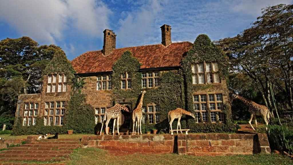 Giraffe Manor Nairobi. - 13 Unique Hotels in Kenya