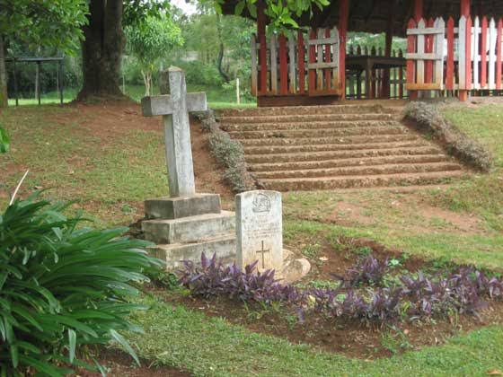Kisii Boma Cemetery. Image Courtesy of King's Own Royal Regiment Musuem