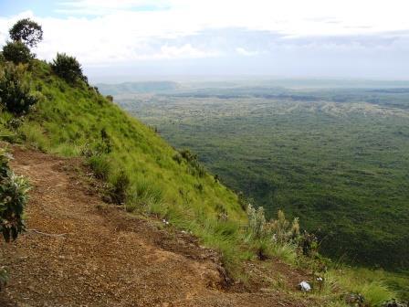 Menengai Crater in Nakuru County