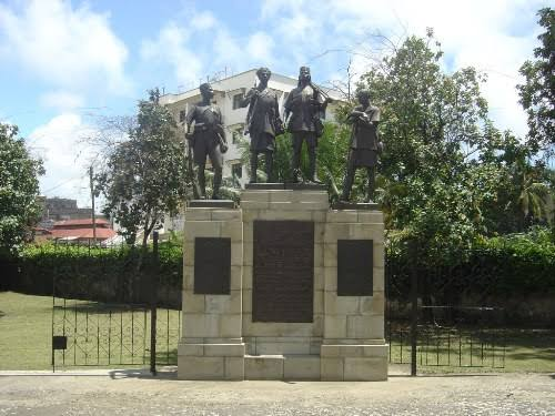 Mombasa African Memorial. Image Courtesy of Traces of War