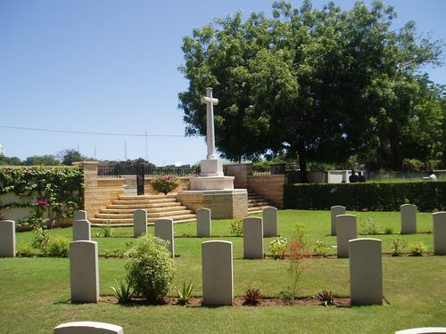View inside Mombasa (Mbaraki) Cemetery. Image Courtesy of Traces of War