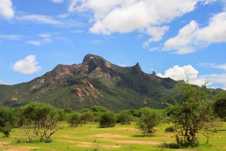 Sacred Mount Forore in Marsabit County.