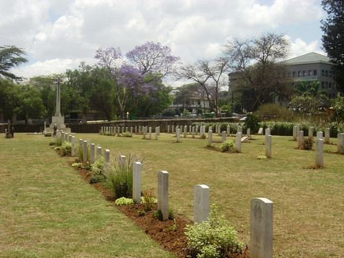 Nairobi South Cemetery. Image courtesy of Traces of War