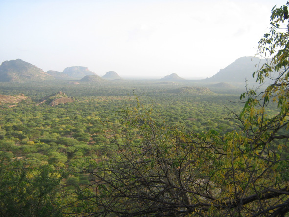 Ndoto Mountains at the border of Samburu and Marsabit Counties