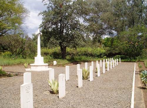 North Nakuru Cemetery. Image Courtesy of Traces of War