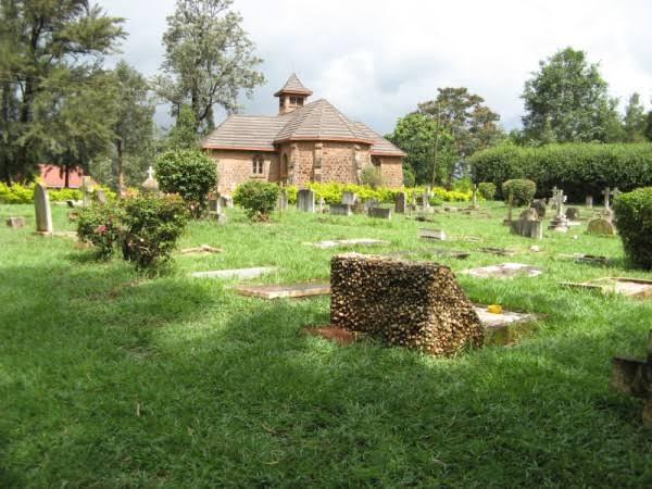 Kiambu (St. Paul) Churchyard Memorial. Image Courtesy of EA Memorial