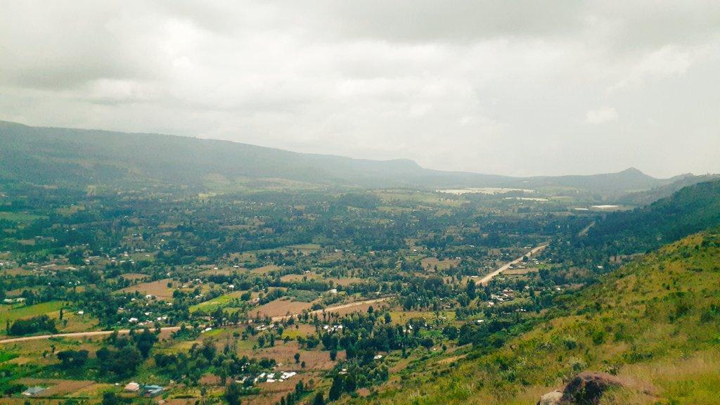Subukia Valley in Nakuru County