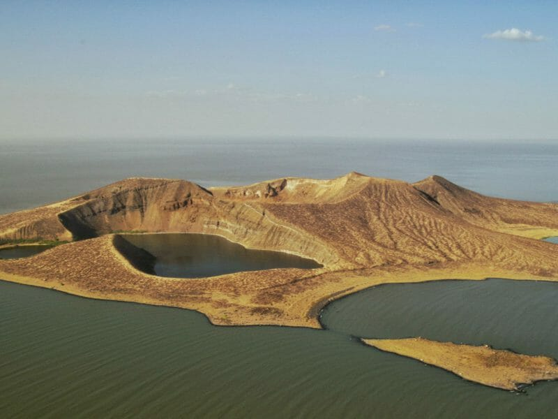 Central Island National Park in Turkana County. Image courtesy of Steepes Travel