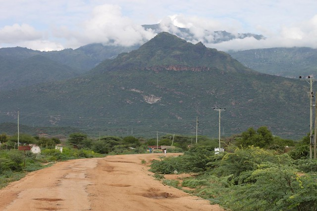 Lokichar Hills in Turkana County. Image Courtesy of Cycling The Globe