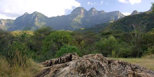 Mathews Range in Namunyak Conservancy - Samburu County