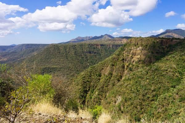 Nguruman Escarpment. Image courtesy of And Africa travel