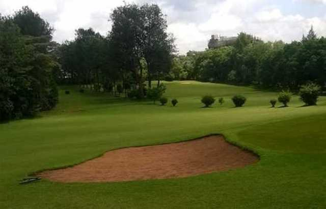 Nyeri Golf Club. Golfing in Kenya