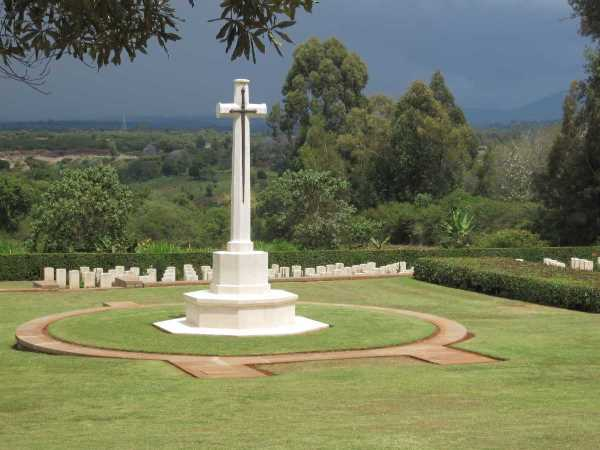 Nyeri War Memorial. Image Courtesy of Traces of War