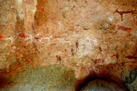 Brandberg Mountain Rock Art Site, Namibia