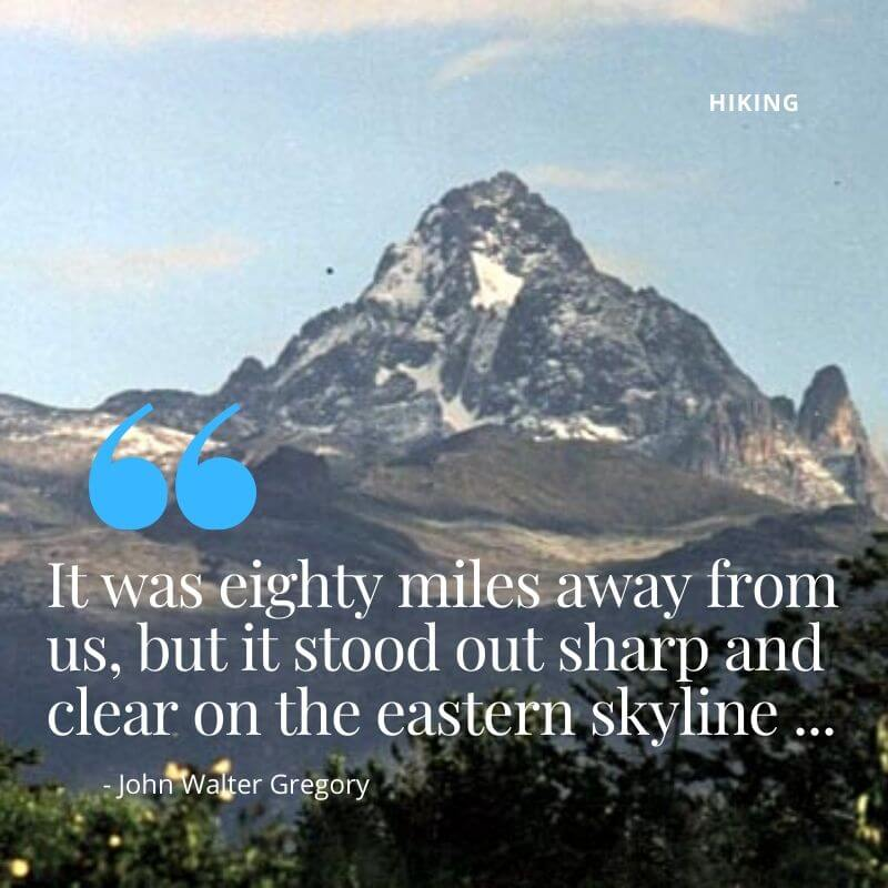 Hiking-in-Kenya: Mount Kenya