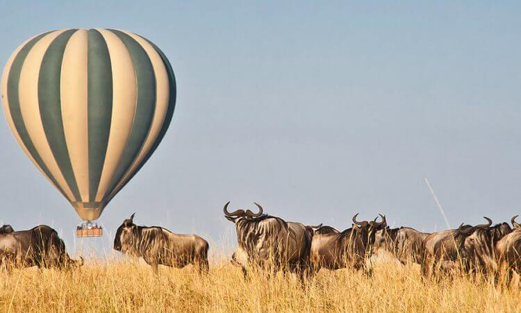 Visit Kenya: Hot Air Balloon Safari in Masai Mara National Reserve. Courtesy of  the Mara