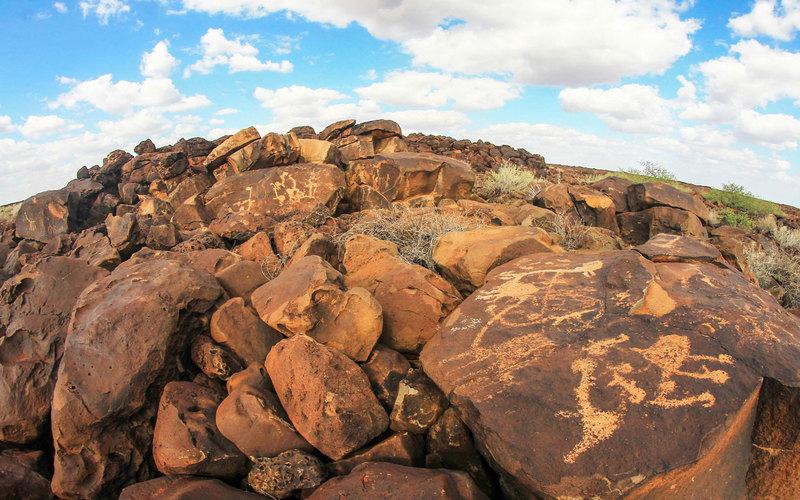 Kalacha Rock Art in Marsabit County. Image Courtesy of Twenzetu