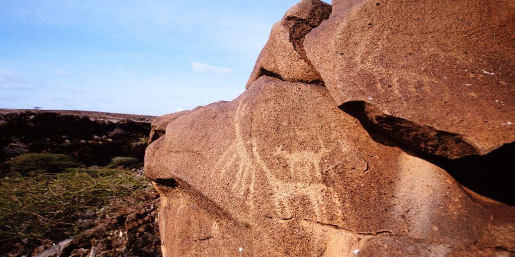 Marti Rock Art in Marsabit County