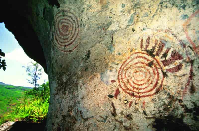 Mawanga Rock Art in Homabay County. Image Courtesy of Victor Matara