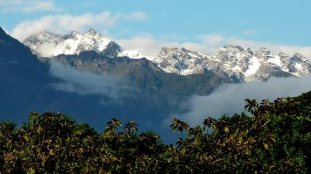 Rwenzori Mountains National Park in Uganda. National Parks in Uganda