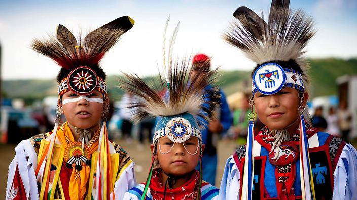 Marking National Aboriginal Day in Canada. Image courtesy of SBS