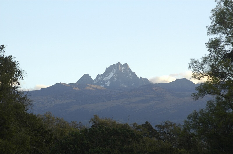 Batian Peak from a distance. Image courtesy of WikiMedia