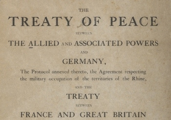 Treaty of Peace of the Treaty of Versailles