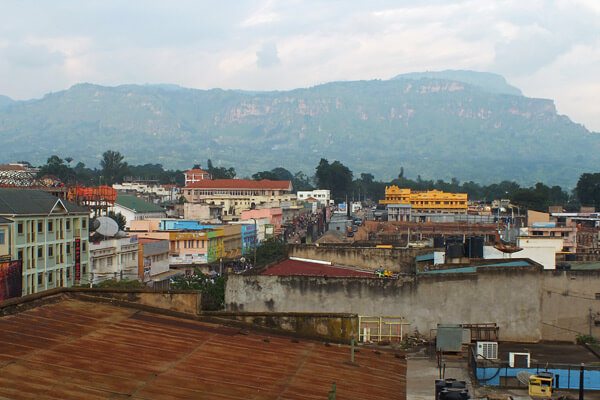 Mbale Town overlooking Mount Elgon. Image courtesy of Globe Spots