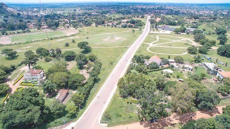 Soroti Avenue Road in Arua West Nile. Image courtesy of The Observation