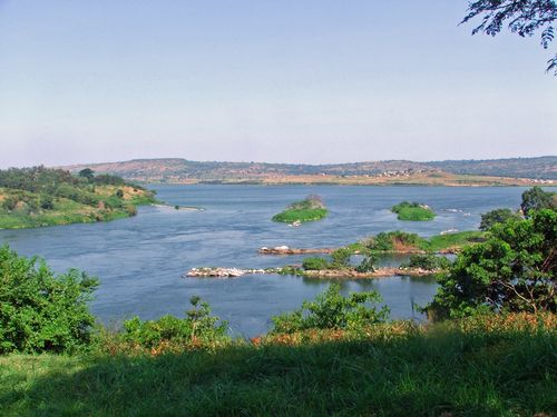 Source of the Nile in Uganda. Image courtesy of Wiki Commons